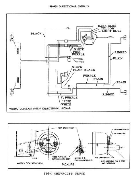 1954 ford turn signal wiring diagram get free image
