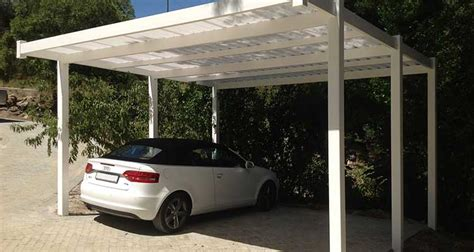 Plastic Car Ports by Pvc Carports Absolut Fencing