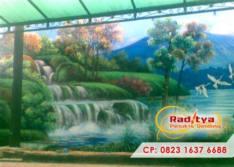 lukisan tembok   realistik keren  bagus