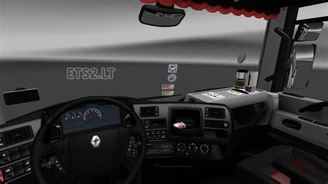renault interior renault magnum interior exterior rework ets 2 mods