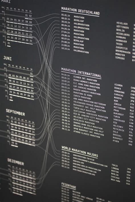 designpreis kalender run run run kalender