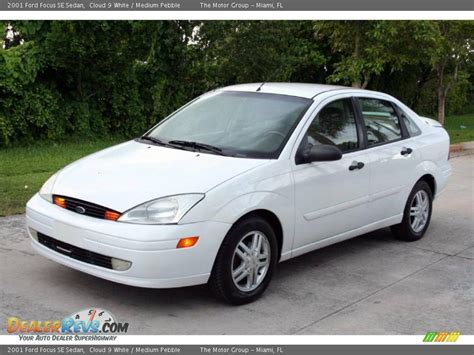 2001 ford focus se 2001 ford focus se sedan cloud 9 white medium pebble