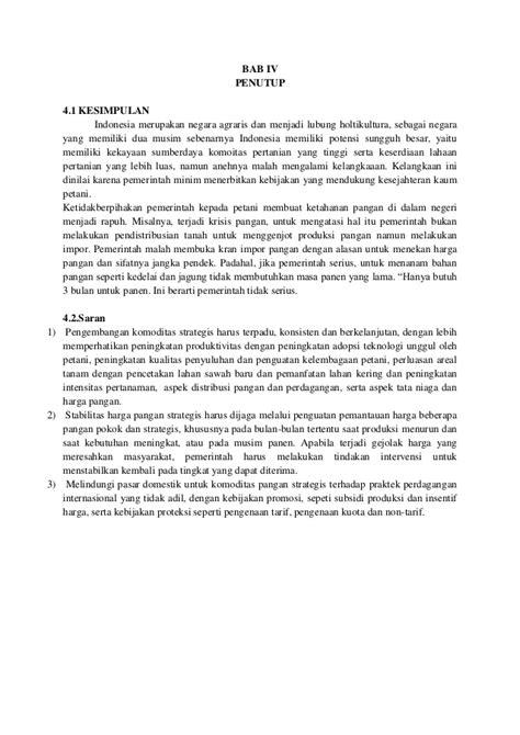membuat makalah pertanian makalah peranan pemerintahan sby terhadap pertanian indonesia