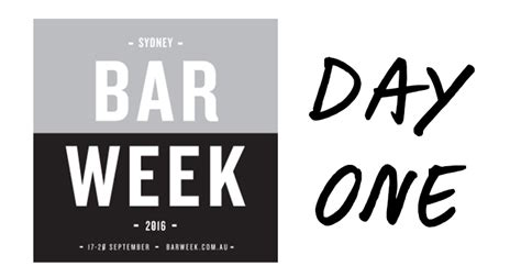 1 week of day sydney bar week what s on for day 1 australianbartender