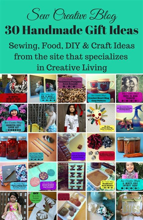 Handmade Craft Websites - 30 handmade gift ideas sewing food diy craft ideas