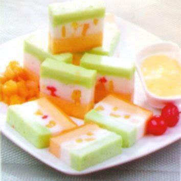 membuat puding hias resep koki cara membuat puding lapis buah