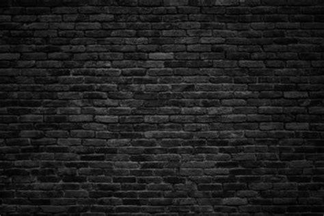 black brick wall procurar fotos tijolinho