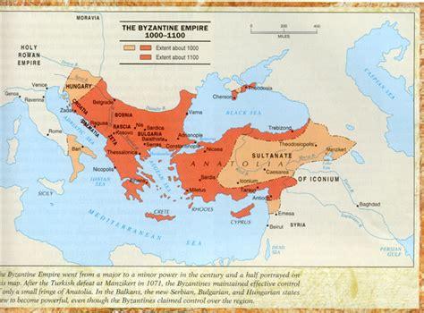 europe and the byzantine empire map 1000 crusadinghistory byzantine empire