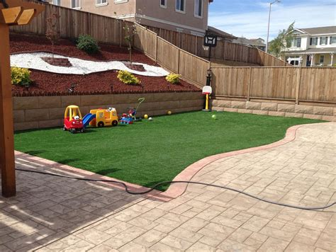 installing turf in backyard installing artificial grass creedmoor texas playground