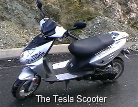 Tesla Scooter Tesla Scooter Three Phase Electric Scooter For The Eco
