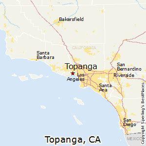 topanga california map best places to live in topanga california