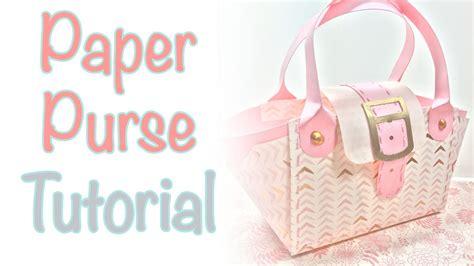 Make A Paper Purse - paper purse tutorial craftiella designs