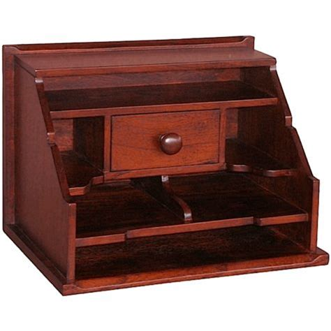 Desk Top Organizer Hutch Cottage Desktop Organizer Hutch