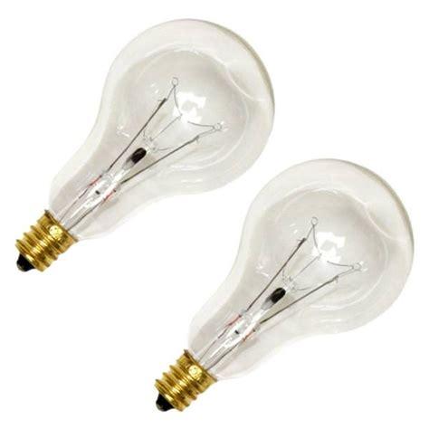 why ceiling fans candelabra bulbs sylvania 10029 40a15c cl fan 2 a15 light bulb