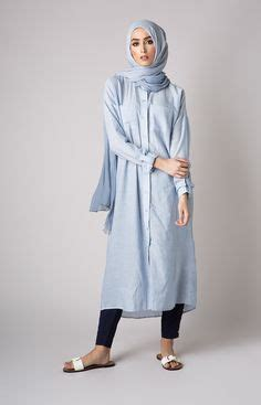 Oversized Jumbo Tunic Blouse Muslim Bigsize 04401 sleeve shirt islamic wear indigo sizes medium large unbranded tunic e
