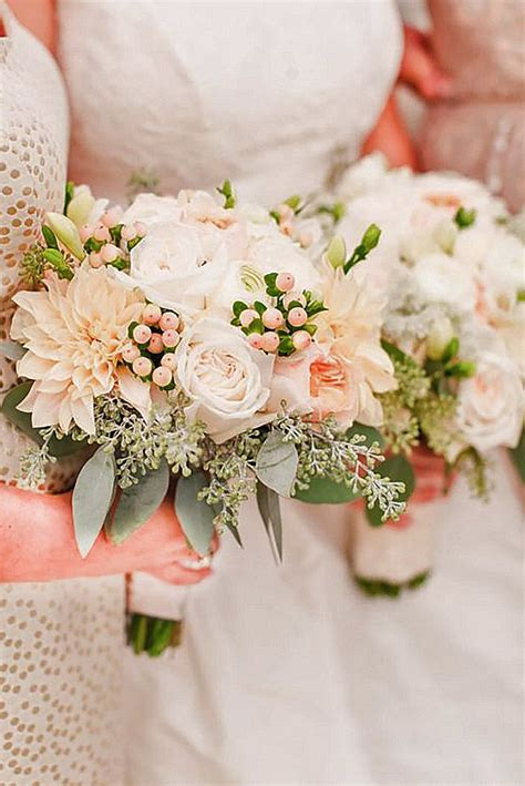 36 glamorous blush wedding bouquets that inspire blush wedding bouquets blush weddings and