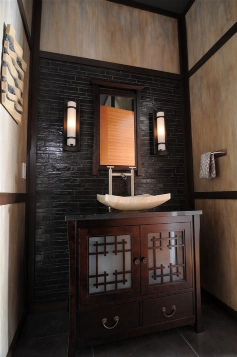 asian inspired bathroom asian bathroom vanities bathroom contemporary with accessories contemporary glass tile