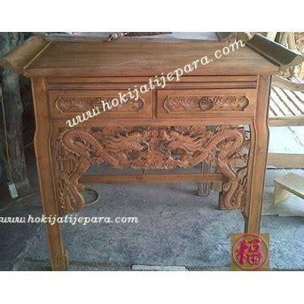 Meja Altar Jati jual meja altar bahan jati furniture hoki jati jepara oleh