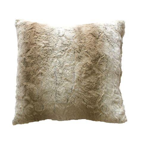 cuscino naturale cuscino ecopelliccia naturale cuscino e fodera per