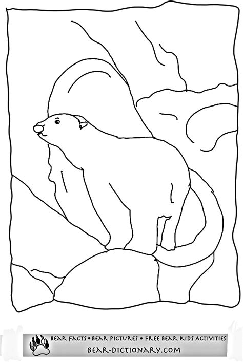 coloring page bear cave free coloring pages of bear cave
