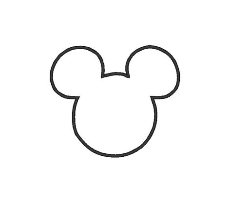 minnie mouse silhouette pattern baby ideas pinterest
