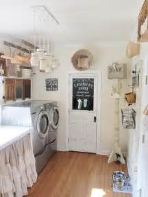 Country Laundry Room Decorating Ideas Laundry Room Makeover Ideas For Your Mobile Home