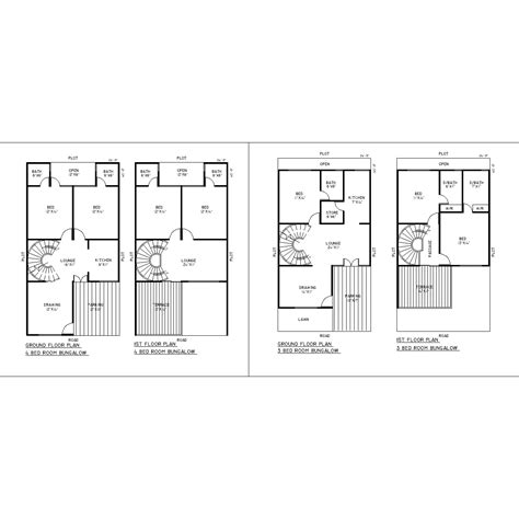 autocad floor plan house floor plan cad file