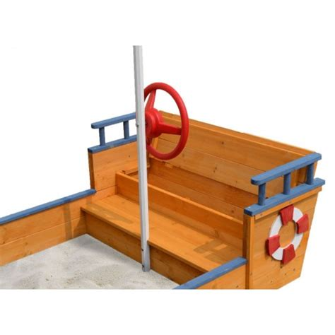 sandpit bench wooden flag ship sandpit with bench seats