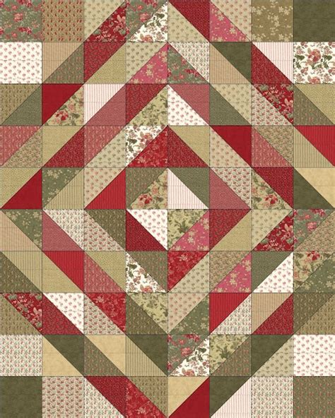 Best 25 Small Quilt Projects Ideas On Machine - 100 best images about one charm pack quilts on