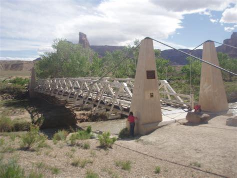swinging in utah file san rafael swinging bridge utah jpeg wikimedia commons