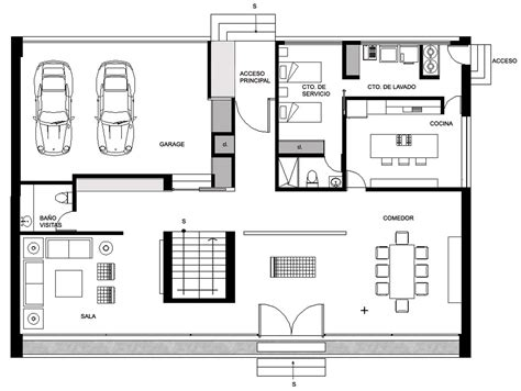 Luxury Townhouse Floor Plans by Gallery Of Gp House Bitar Arquitectos 14
