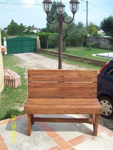 pallet bench ideas diy pallet bench instructions pallet furniture plans