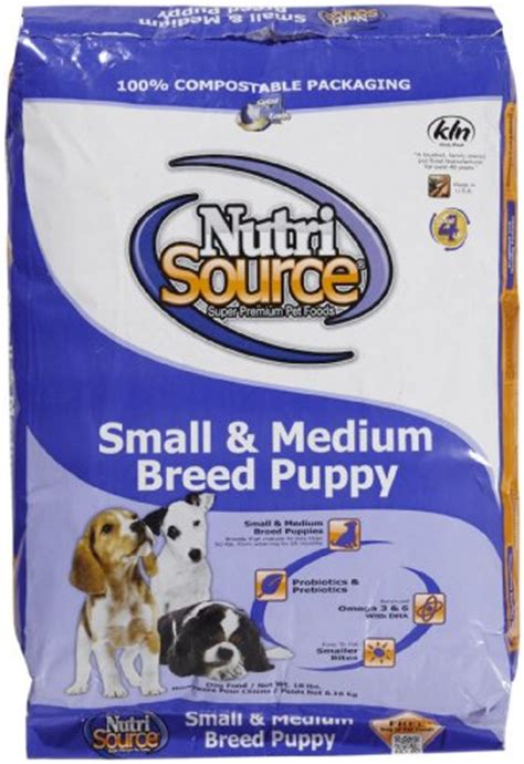 Nutri Source Rice 18 Lbs nutri source small medium puppy chicken rice 18