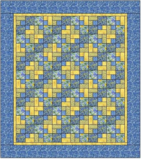 yellow quilt pattern blue lake beach quilt free pattern at sentimental