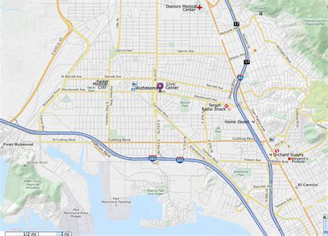 california map mapquest richmond ca