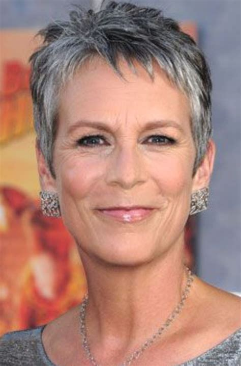 what hair colour was jamie lee curtis in her younger days 125 best images about grey silver hair on pinterest