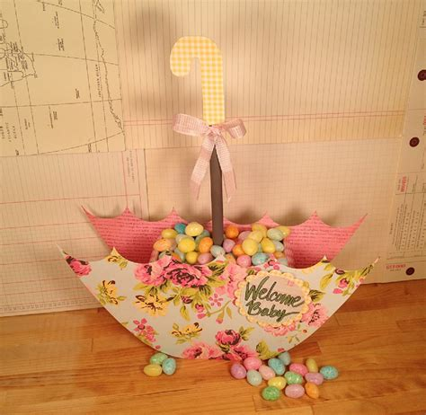 April Showers Baby by April Showers Challenge Baby Shower Centerpiece Tombow