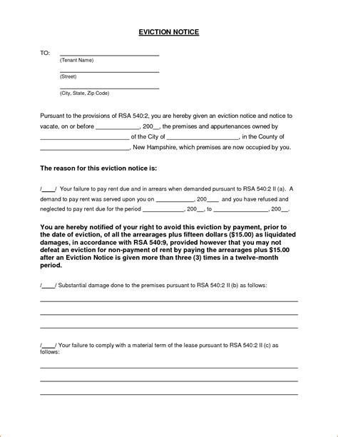 sle eviction notice letter alabama eviction notice form alberta templates resume exles