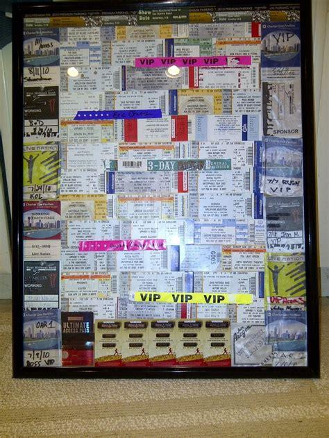 ticket stub box etsy