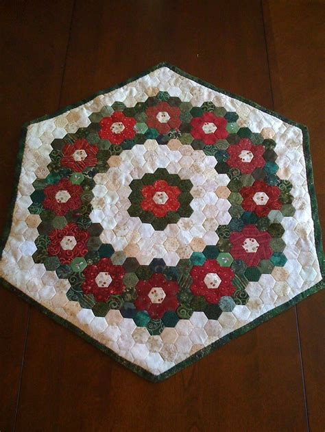 Hexagon Patchwork Quilt Patterns - 156 best hexies hexagonal quilts more images on
