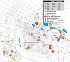 tcf bank stadium stadium maps