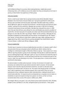 Personal Leadership Style Essay by My Personal Leadership Style Essay