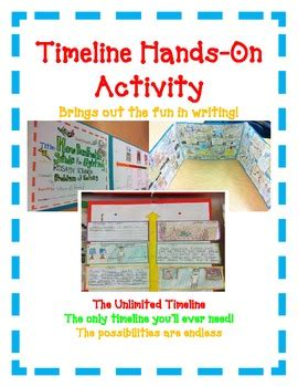 book report timeline hands on activity great for main idea common core
