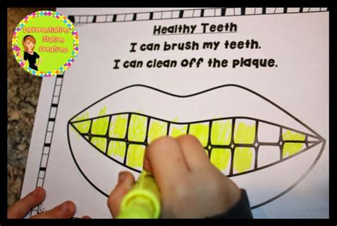 I Can Brush My Teeth Printable