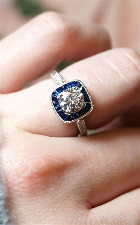 sapphire wedding rings 174 best sapphire engagement rings images on