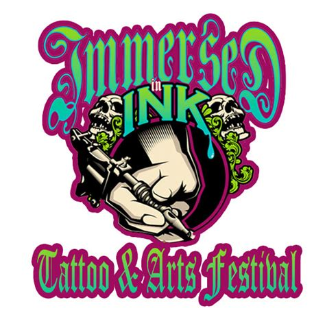 tattoo fest logo immersed in ink tattoo arts festival hits louisville ky