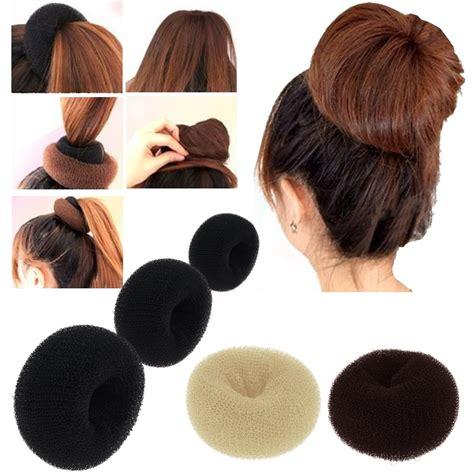 Hair Bun Styling Tool s sponge hair styling tool bun maker ring donut