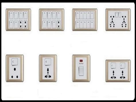 modern electrical switches for home modern electrical
