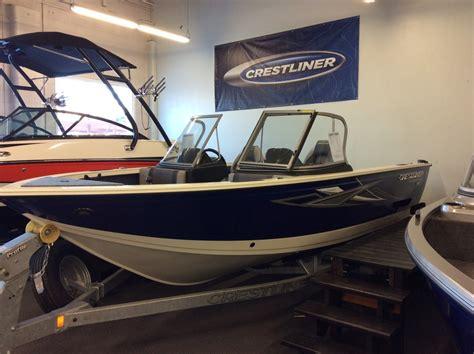 crestliner boats for sale edmonton 2017 crestliner 1750 super hawk edmonton boats for sale