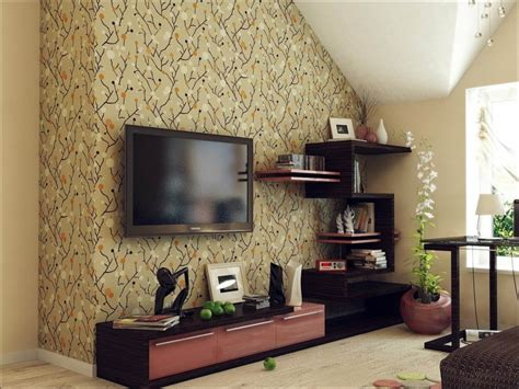 Bedroom Design With Flat Tv Flat Screen Tv Wall Cabinets Offering Space Saving